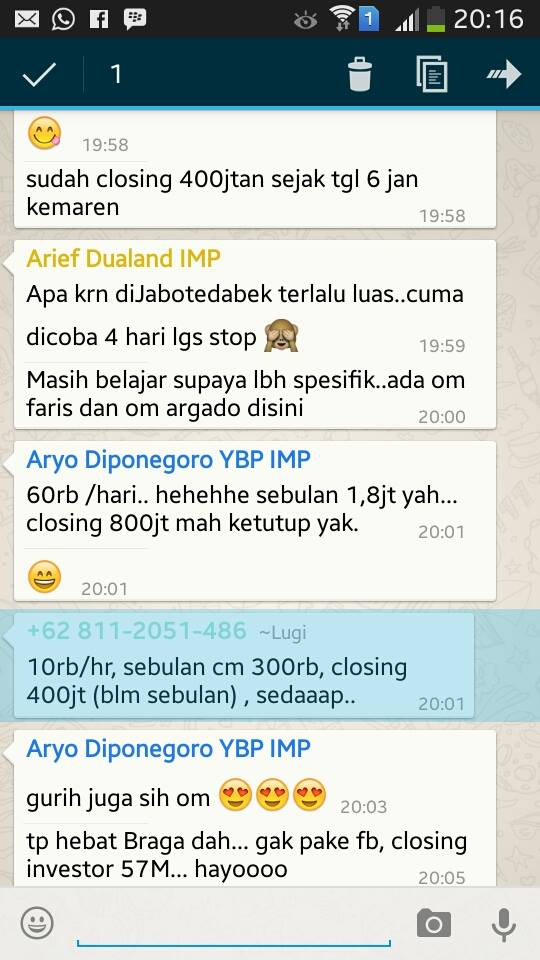 testimoni Internet Marketing Properti
